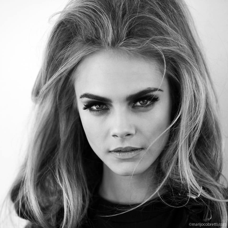 Cara Delevigne - no parting (fashionbenedict.blogspot.co.uk)