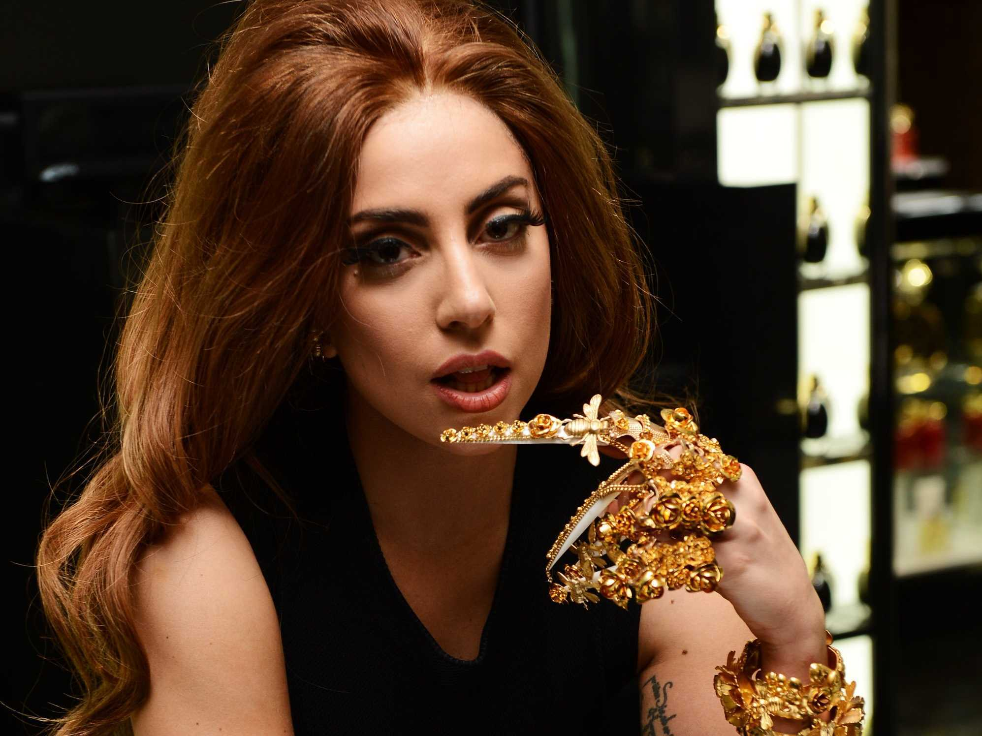 Music_Singer_Lady_Gaga_with_brown_hair_053393_