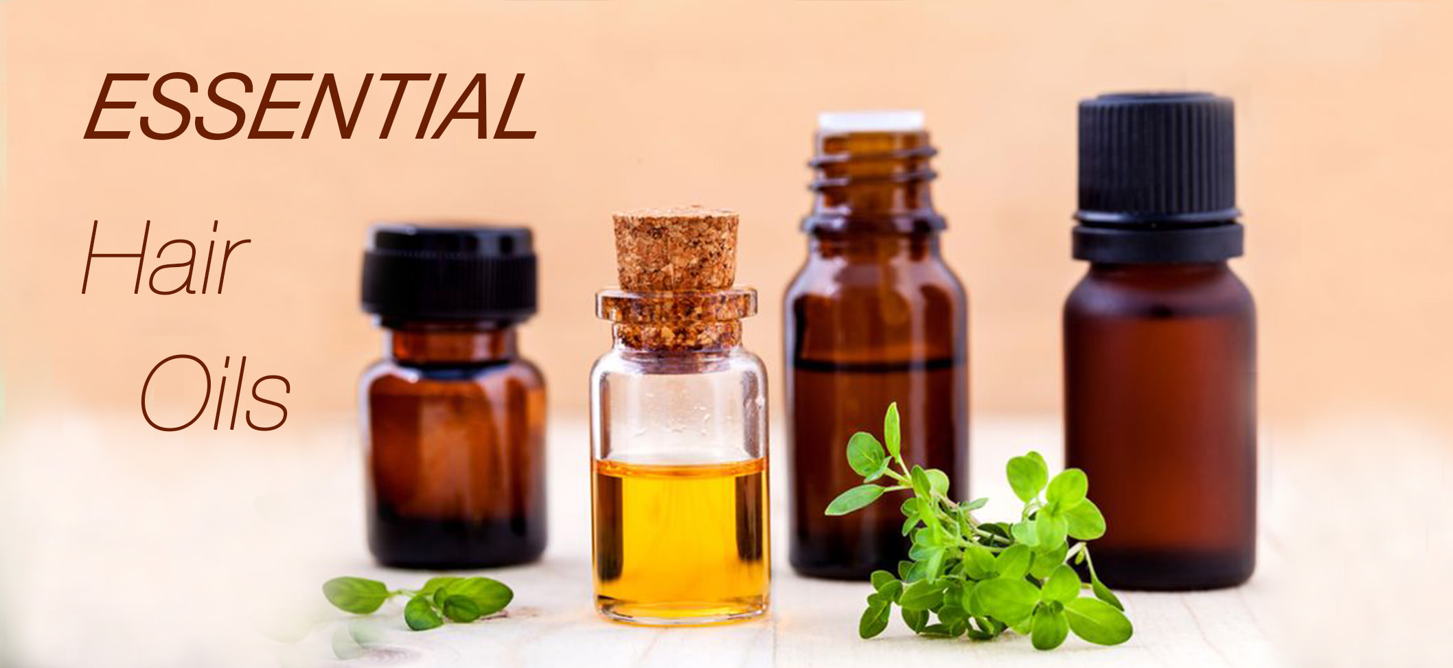 Three essential oils